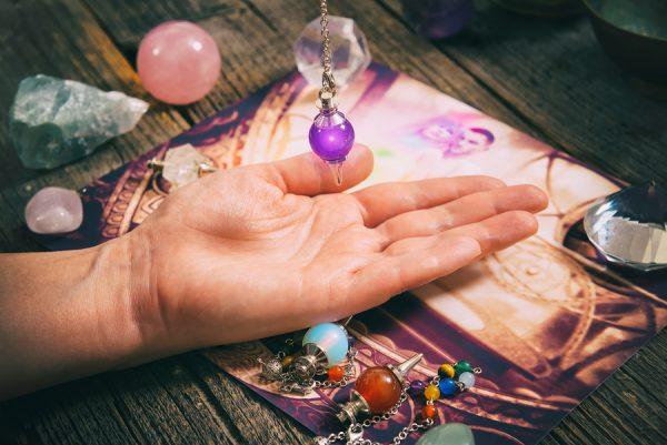 fortune teller with pendulum