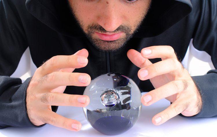 reading a crystal ball