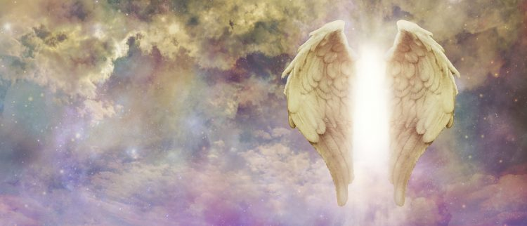 light from an angel