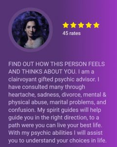 psychic profile page